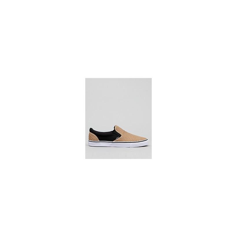 "Weavel 2 Tone Slip-On Shoes in ""Sand/Black""  by Jacks"