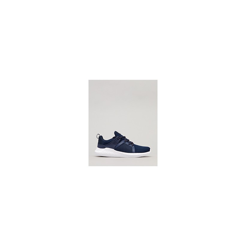 "Salvage Shoes in ""Navy/White""  by Lucid"