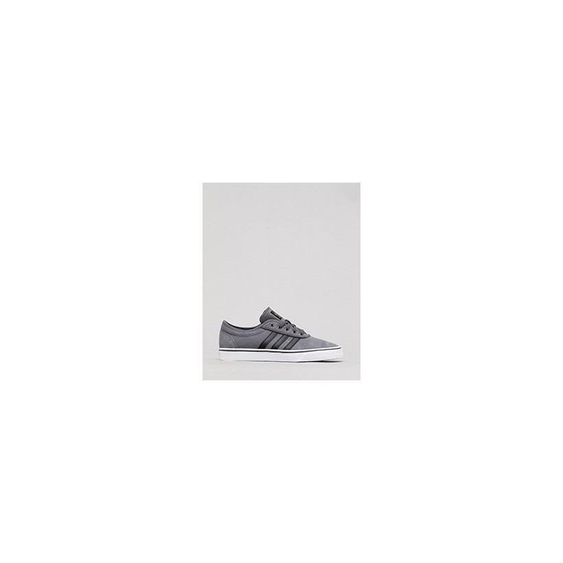 "Adi Ease Shoes in ""Grey Five/Core Black/Ftwr""  by Adidas"