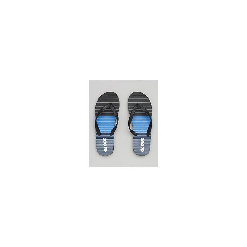 "Aggro Thongs in ""Black/Blue/Grey""  by Globe"
