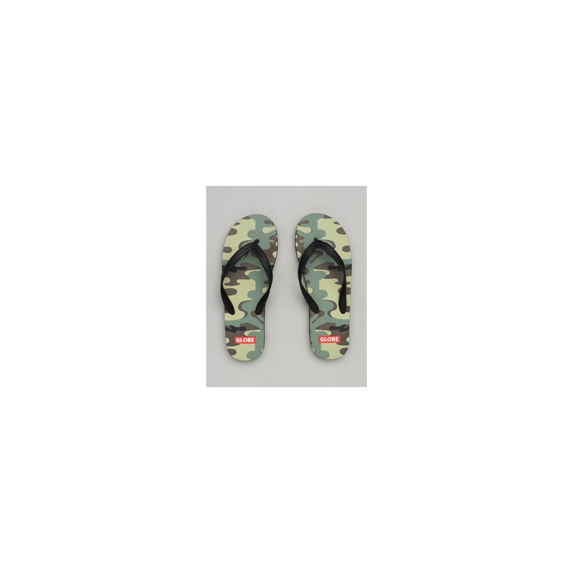 "Indy Thongs in ""Camo""  by Globe"
