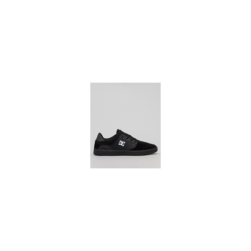 "Plaza TC Shoes in ""Black/Black/White""  by DC Shoes"