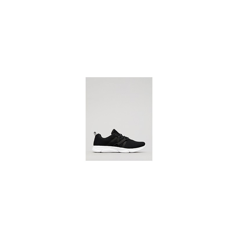 "Standard Shoes in ""Black/White""  by Lucid"