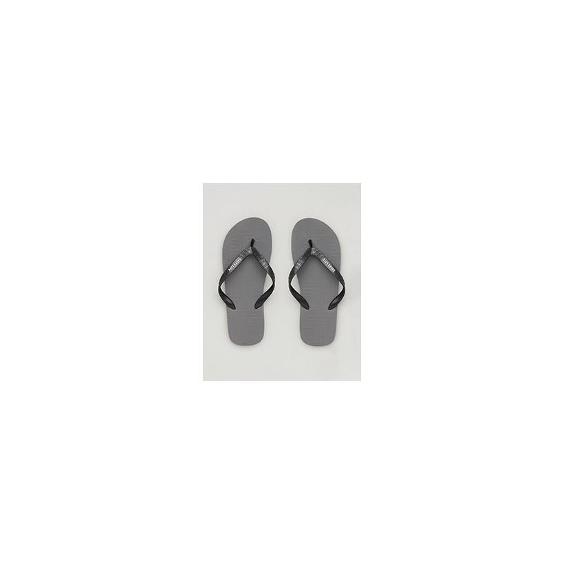"""Ripples Thongs in """"Grey/Black""""  by Salty Life"""