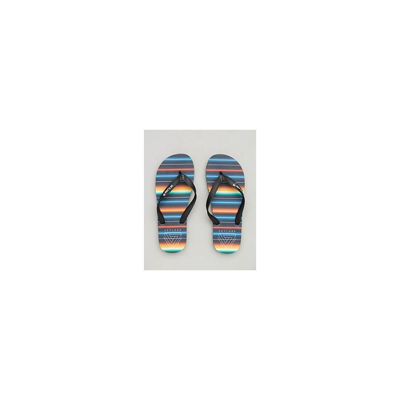 """Siesta Thongs in """"Black/Multi""""  by Skylark"""