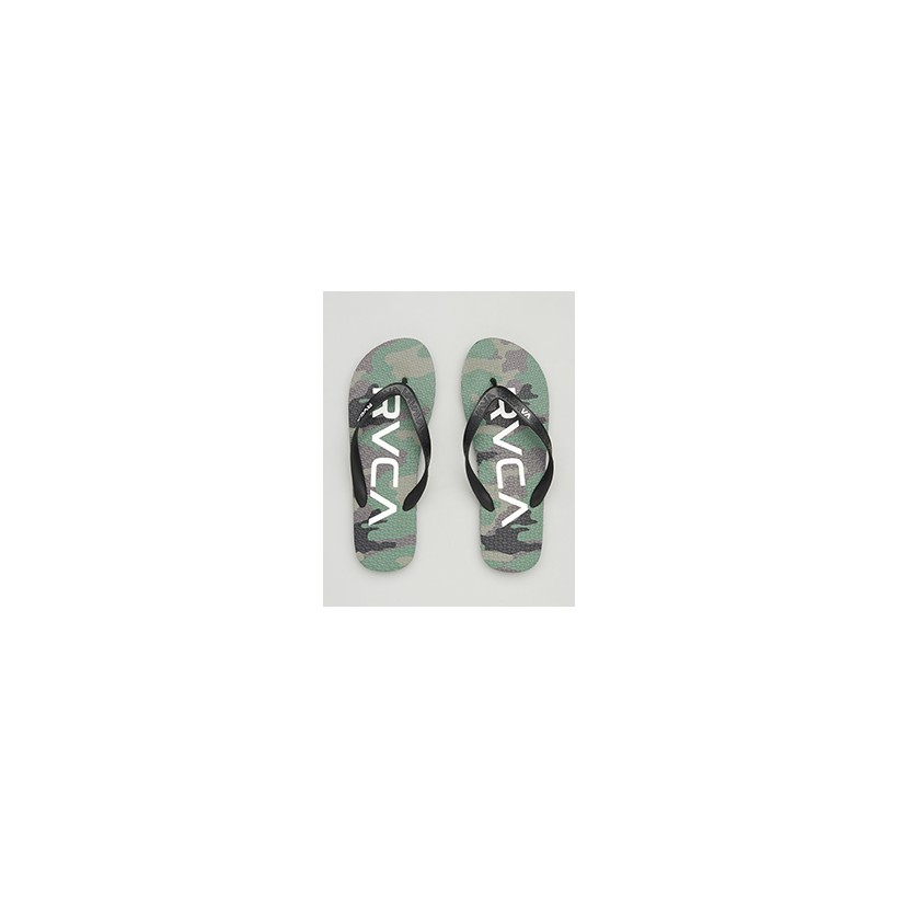 """Trench Twn 3 Sandal Cmo in """"Camo""""  by RVCA"""