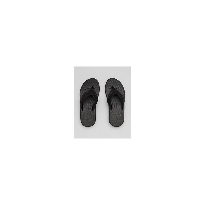 """Sonar Thongs in """"Black/Grey""""  by Rip Curl"""