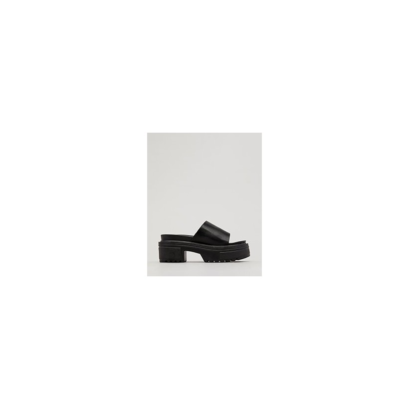 90's Chic Flatform Shoes in Black by Ava And Ever