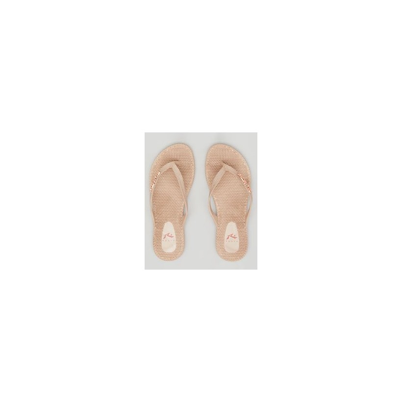 Flippin' Thongs in Nude Solid 2 by Rusty