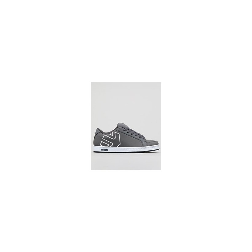 Kingpin Shoes in Grey/White by Etnies