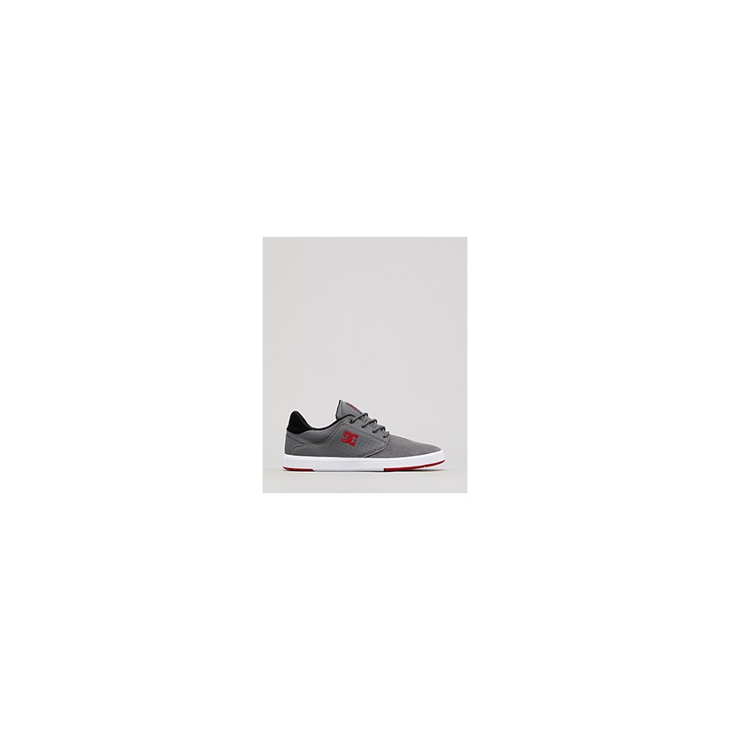 """Plaza TC Shoes in """"Grey/Grey/Red""""  by Dc Shoes Australia Pty Ltd"""