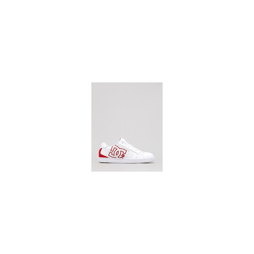 """Net Shoes in """"White/Red/White""""  by Dc Shoes Australia Pty Ltd"""
