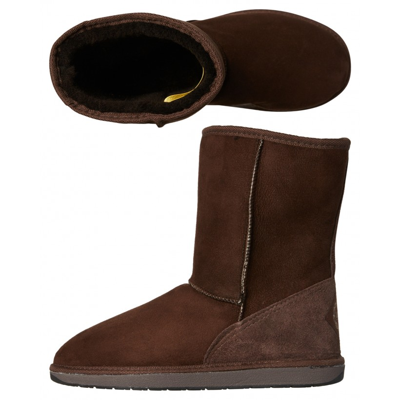 Mens Tidal 3 Quarter Ugg Boot Chocolate By UGG AUSTRALIA