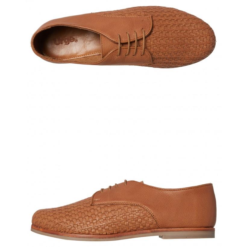 Dante Leather Shoe Cognac By URGE