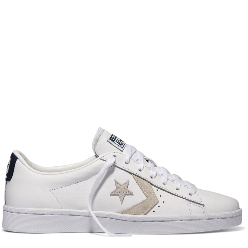 Pro Leather Low Top White-Navy
