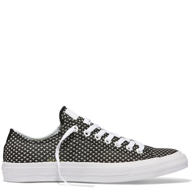 Chuck Taylor All Star II Festival Knit Low Top Black