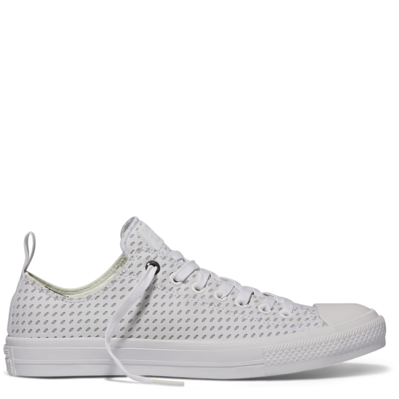 Chuck Taylor All Star II Shield Lycra Low Top White