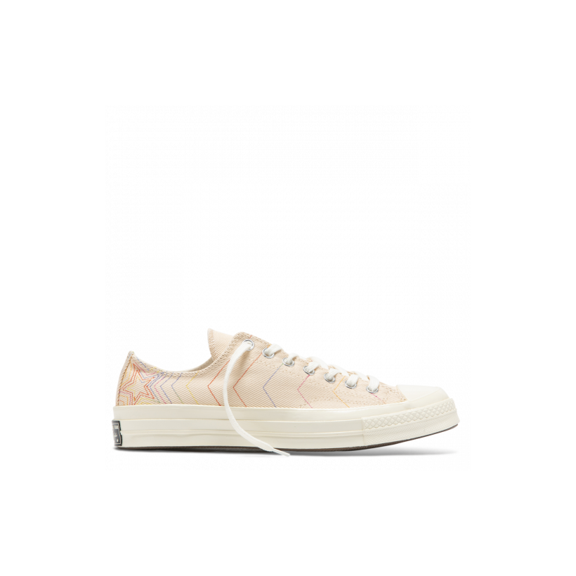 Chuck Taylor All Star 70 Rainbow Low Top Light Bisque