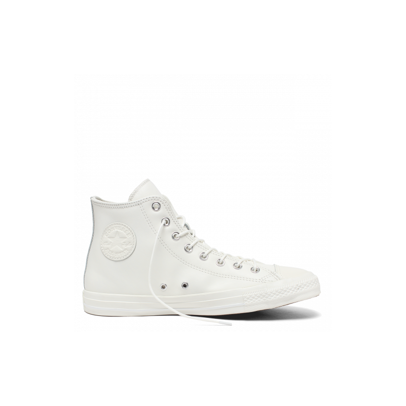 Chuck Taylor All Star Seasonal Leather High Top Vintage White