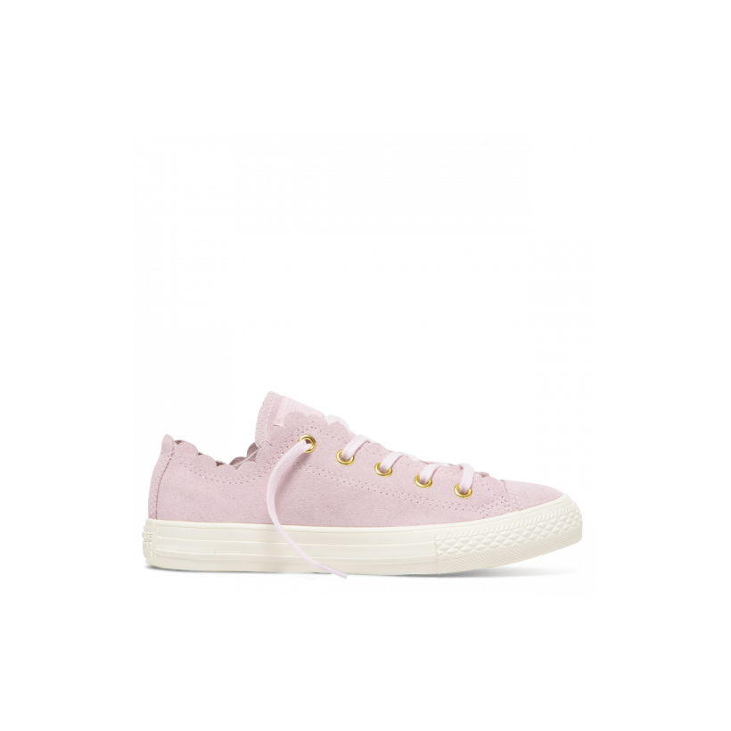 Chuck Taylor All Star Junior Frilly Thrills Low Top Pink Foam