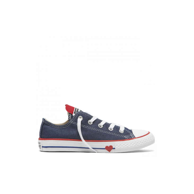 Chuck Taylor All Star Junior Denim Love Low Top Navy