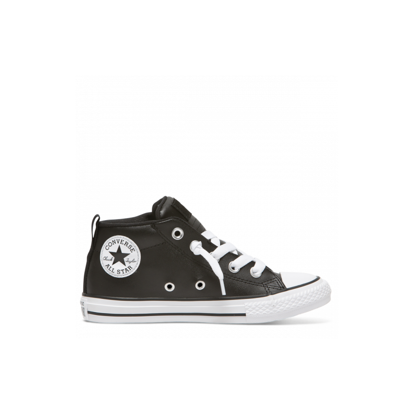 Chuck Taylor All Star Street Spring Essentials Junior Mid Black