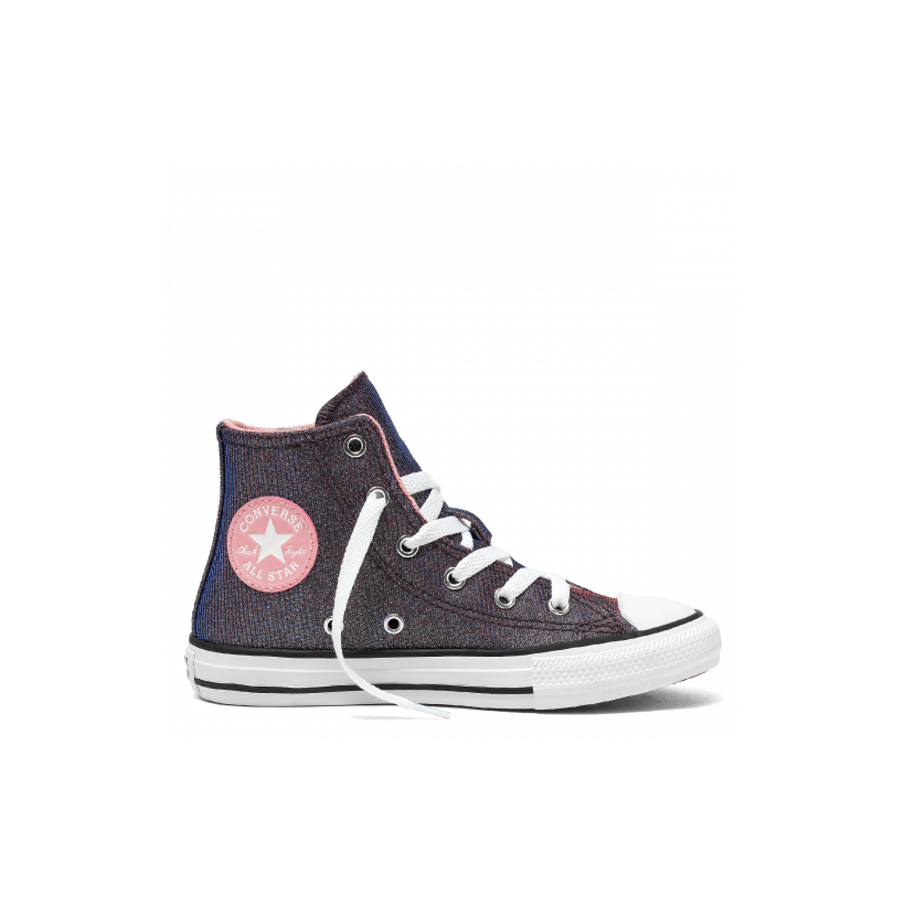Chuck Taylor All Star Space Star Junior High Top Coastal Pink