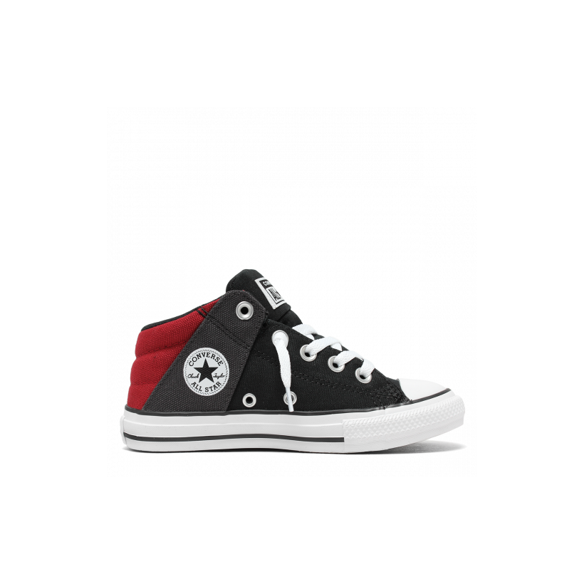 Chuck Taylor All Star Axel Canvas Junior Mid Black