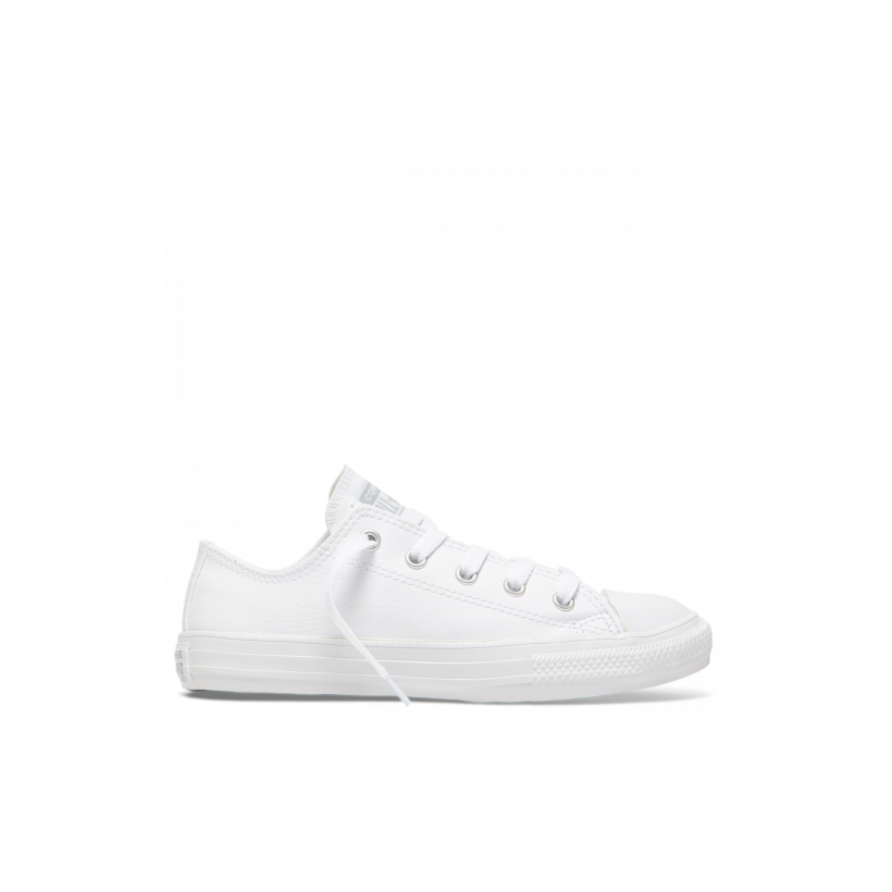 Chuck Taylor All Star Back To School Junior Low Top White Mono
