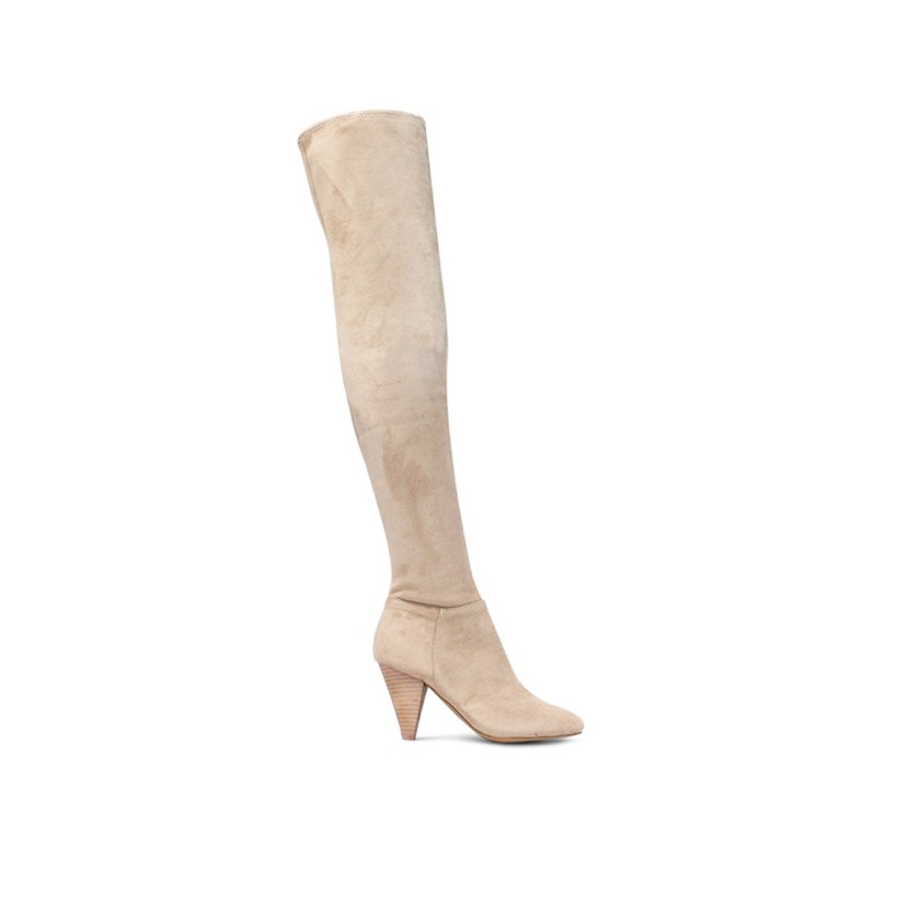 Curtis - Seashell Microsuede by Siren Shoes