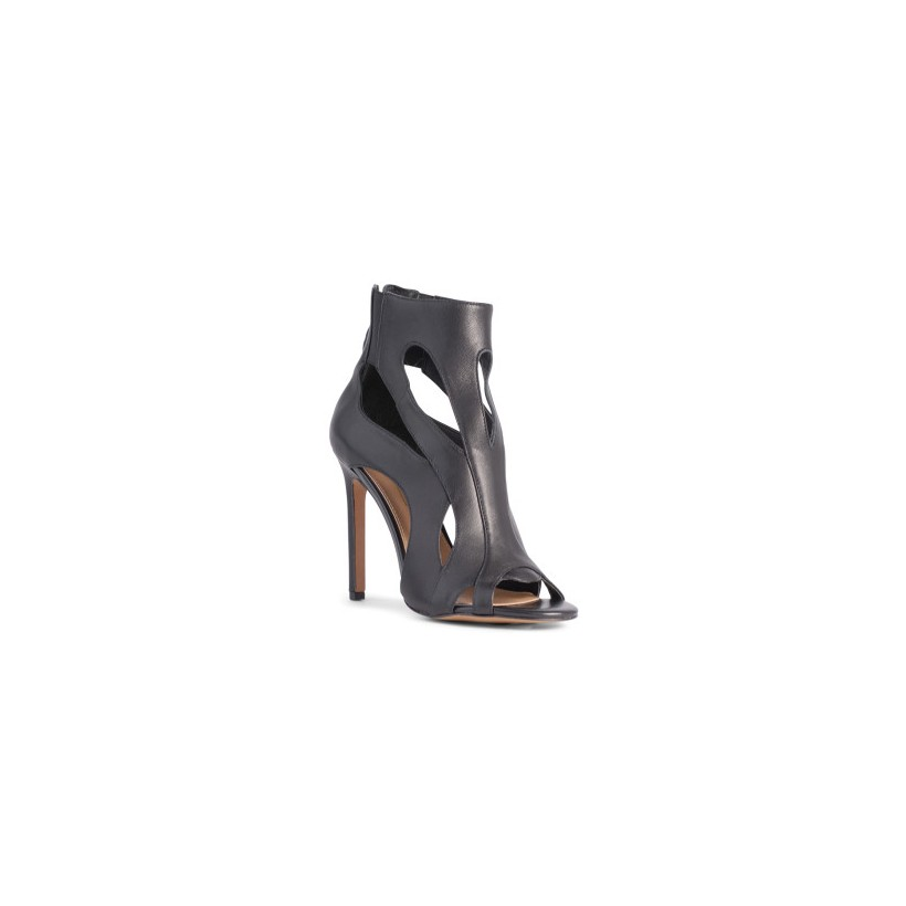 Darcy - Black Kid by Siren Shoes