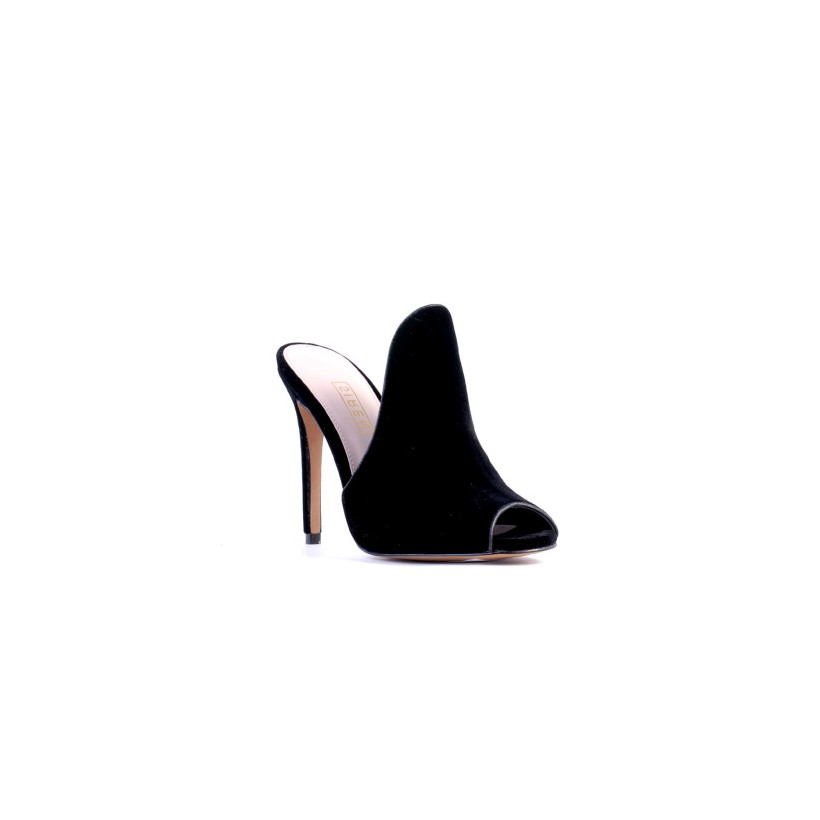 Dazia - Black Velvet by Siren Shoes