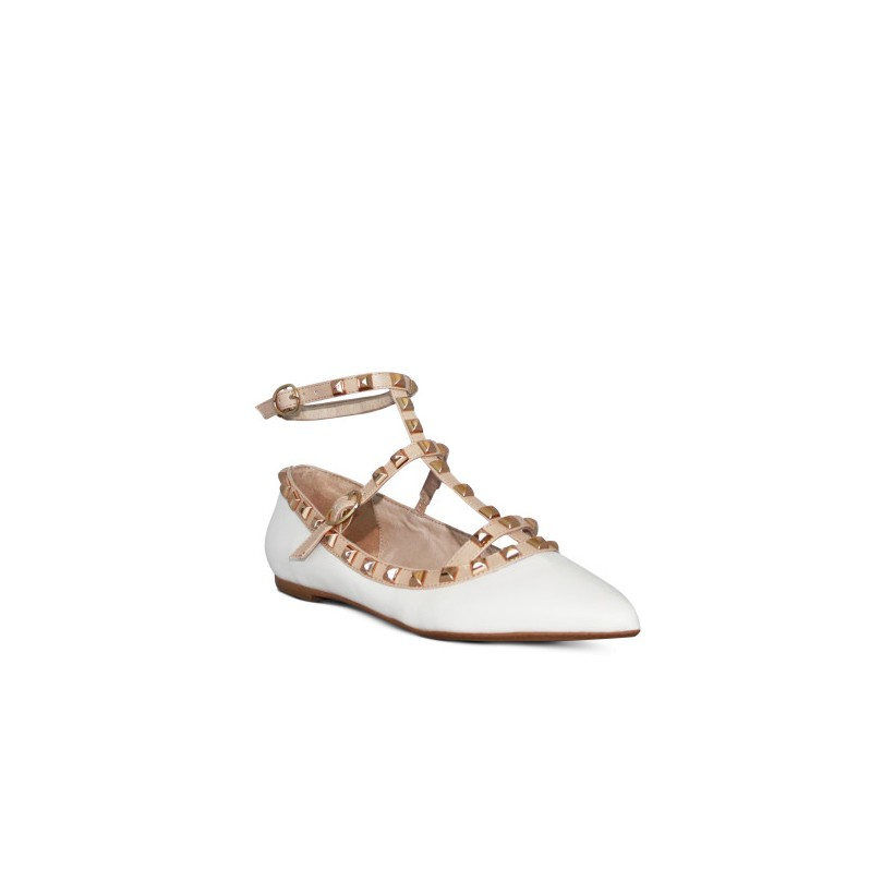 Delight - Chalk Kid/ Nude by Siren Shoes