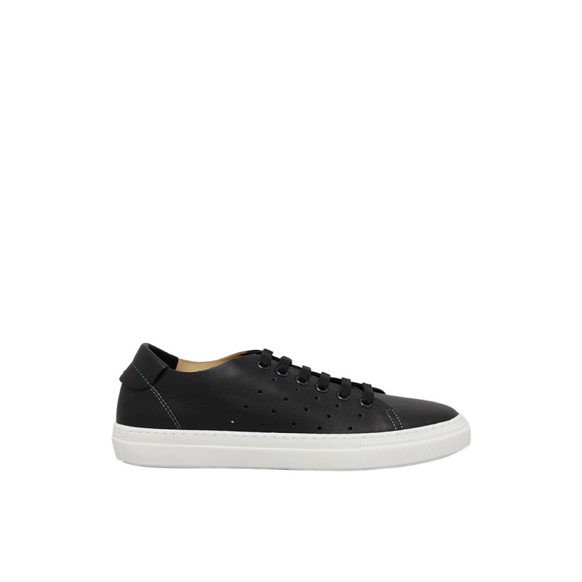 Dixie - Black Leather by Siren Shoes