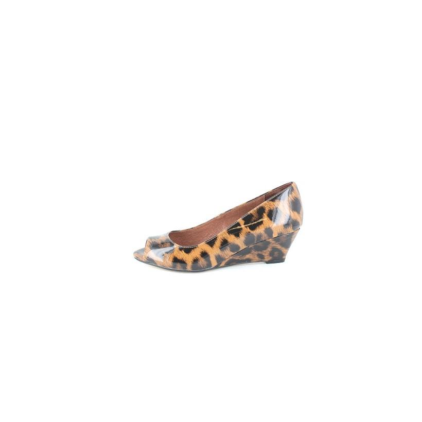 Peepy Leopard by Florsheim Womens
