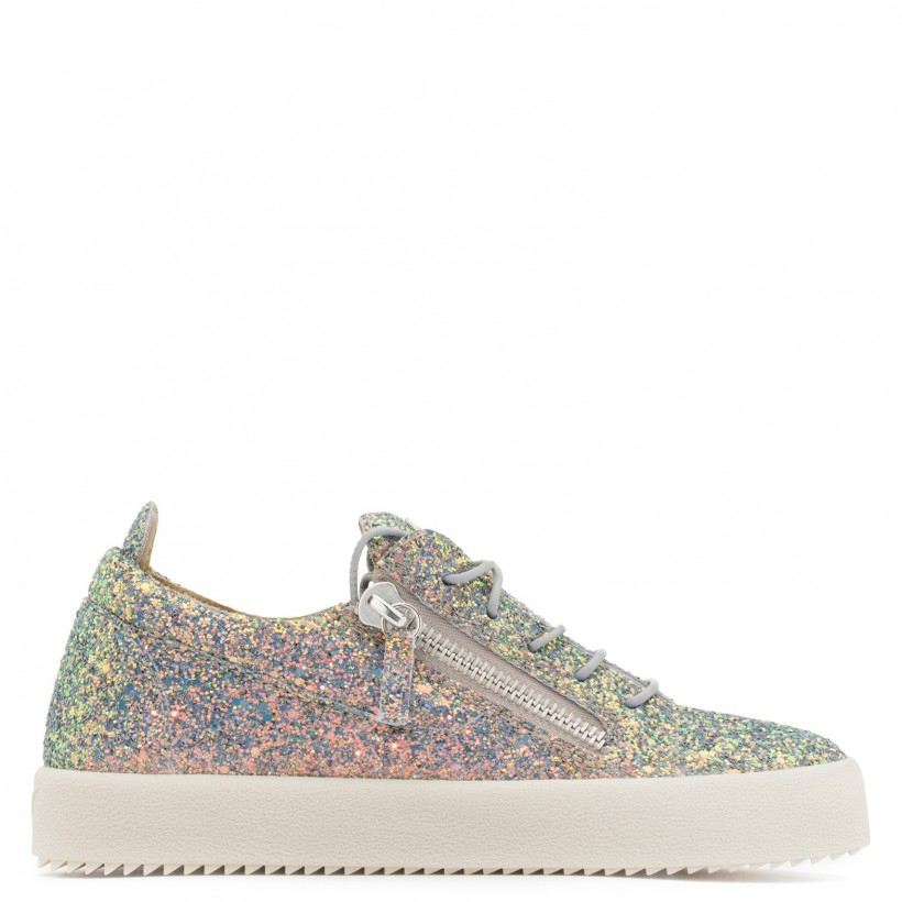 Cheryl Glitter - Multicolor - Low Tops By Giuseppe Zanotti