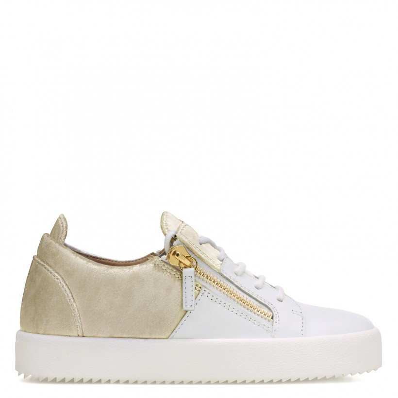 Double - White - Low Tops By Giuseppe Zanotti