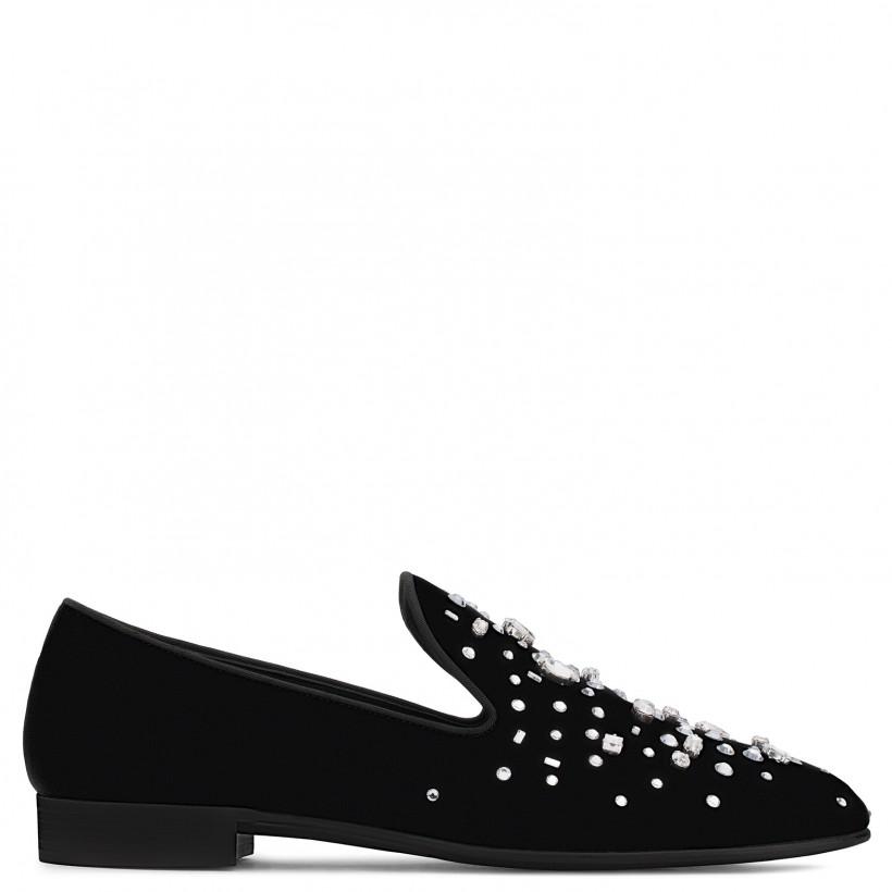 Omar - Black - Loafers By Giuseppe Zanotti
