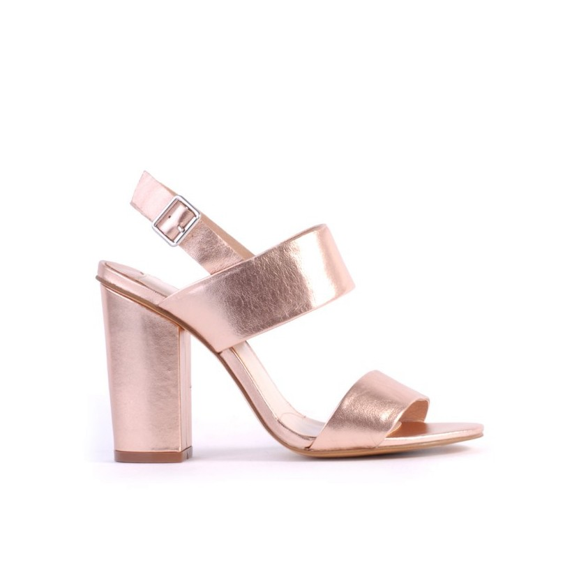 Goddess II - Rose Gold Kid by Siren Shoes