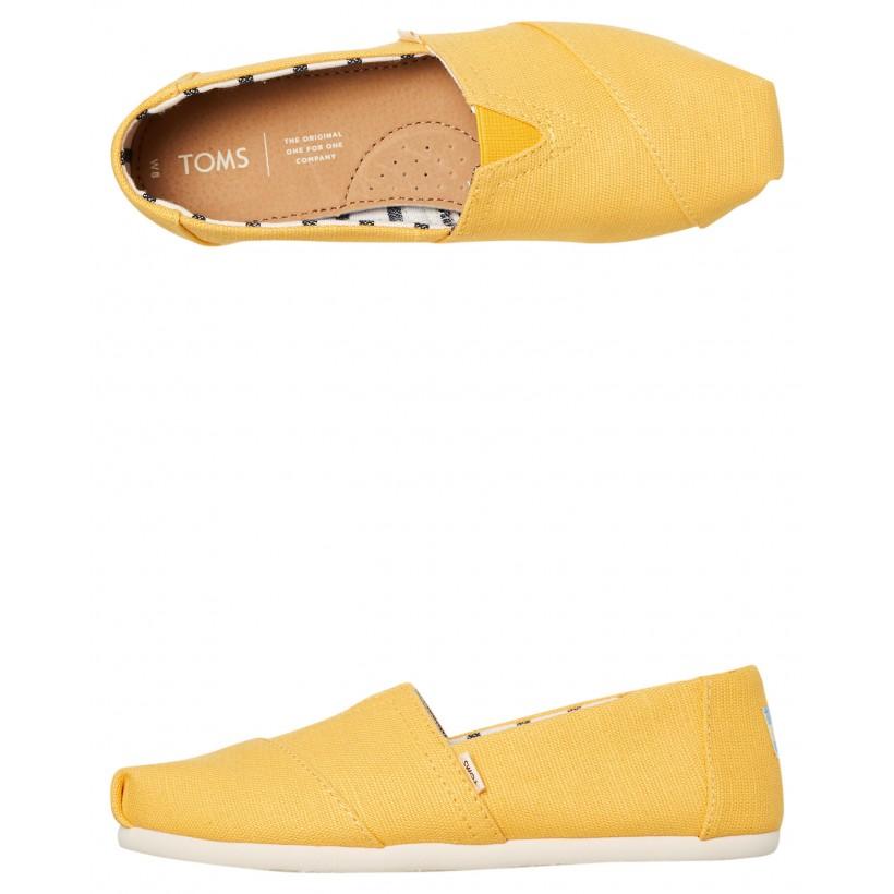 Womens Alpargata Shoe Gold Fusion