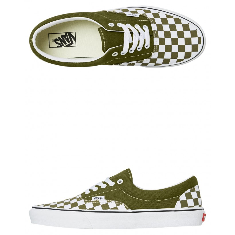 Mens Era Shoe Green