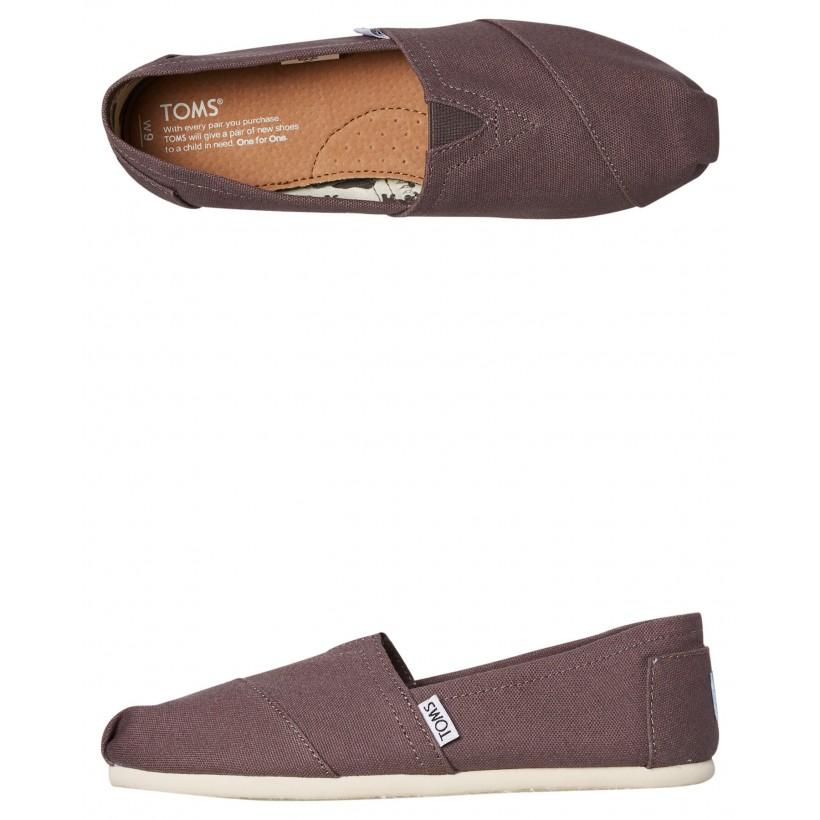 Womens Alpargata Shoe Grey