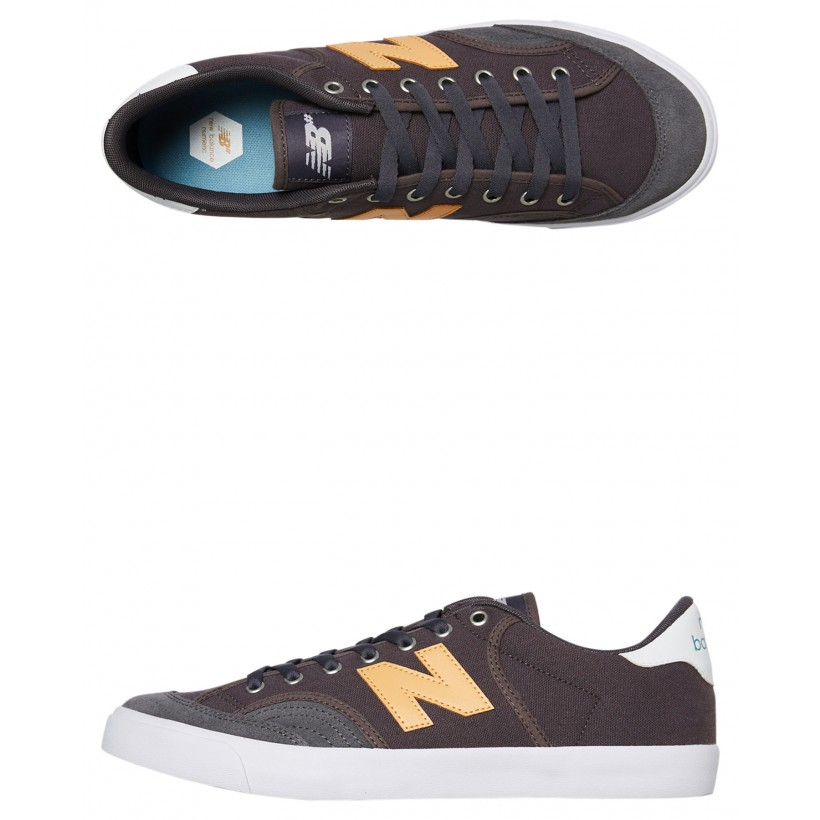 212 Mens Shoe Grey Yellow