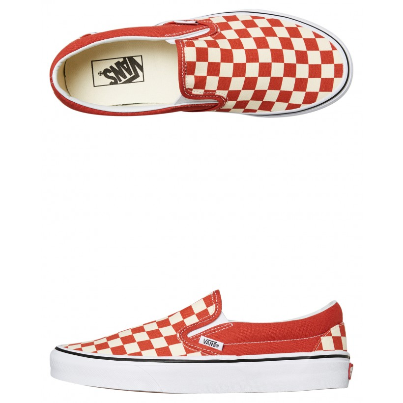 Womens Classic Slip On Shoe Hot Sauce By VANS