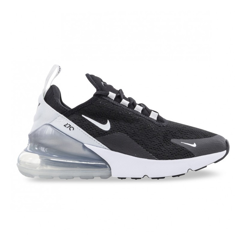 AIR MAX 270 WOMENS Black White Pure Platinum White