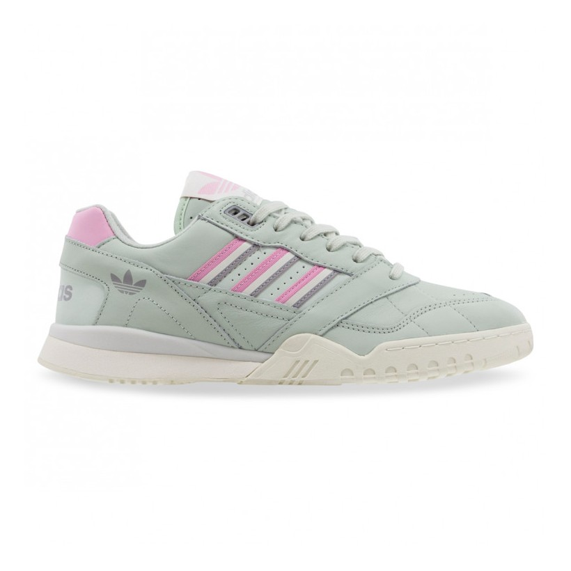 A.R. TRAINER Linen Green True Pink Off White