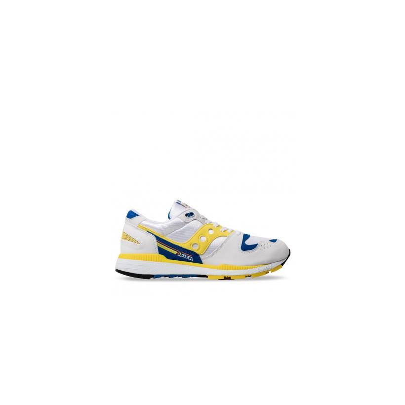 AZURA White/Yellow/blue