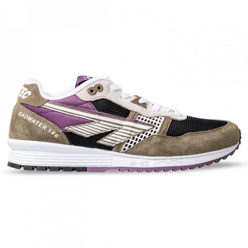 BADWATER 146 Tan Black Purple