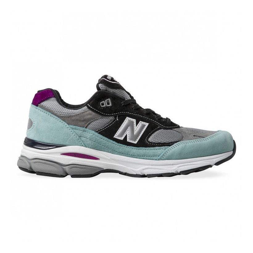 991.9 MADE IN ENGLAND Teal Black Grey White