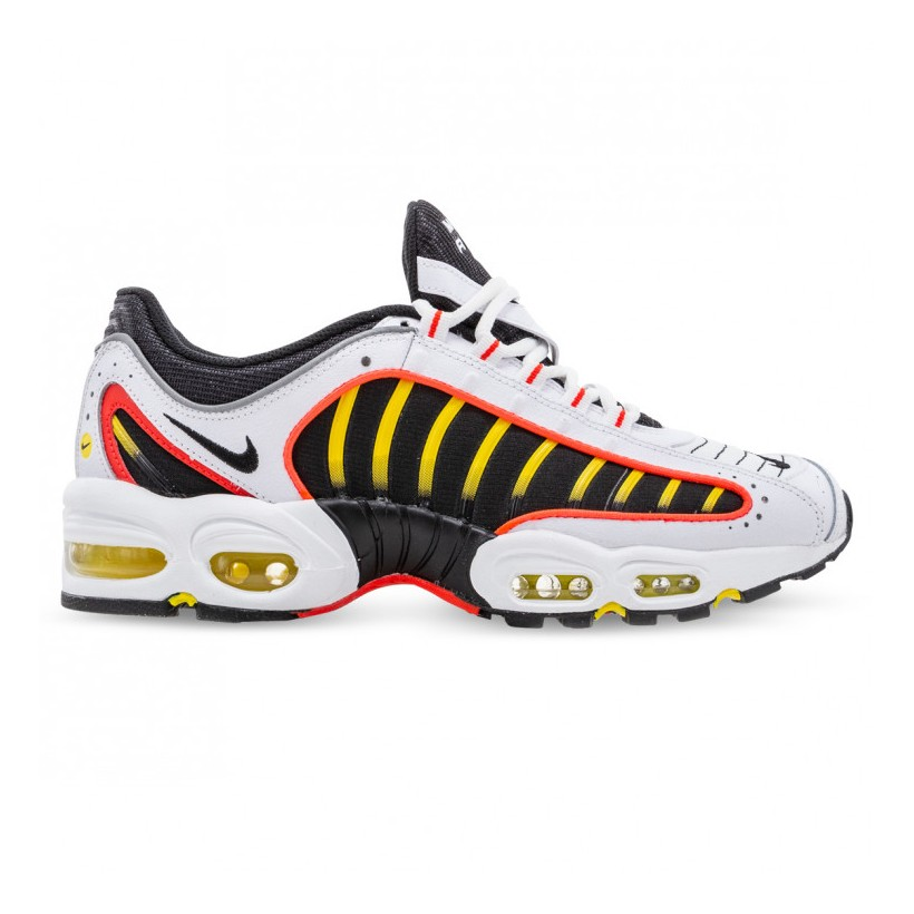 AIR MAX TAILWIND IV White Black Bright Crimson Chrome Yellow